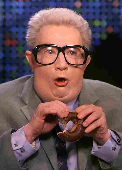 Jiminy Glick, as played by Martin Short. — Thom Woodward, Operations