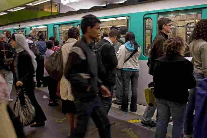 The metro, containing more than 300 stations, carries more than four million riders a day.