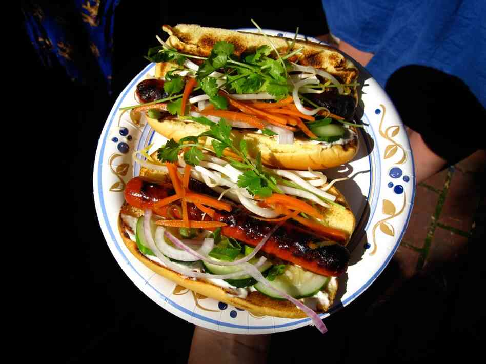The winner: Vietnamese Banh Mi-inspired dog