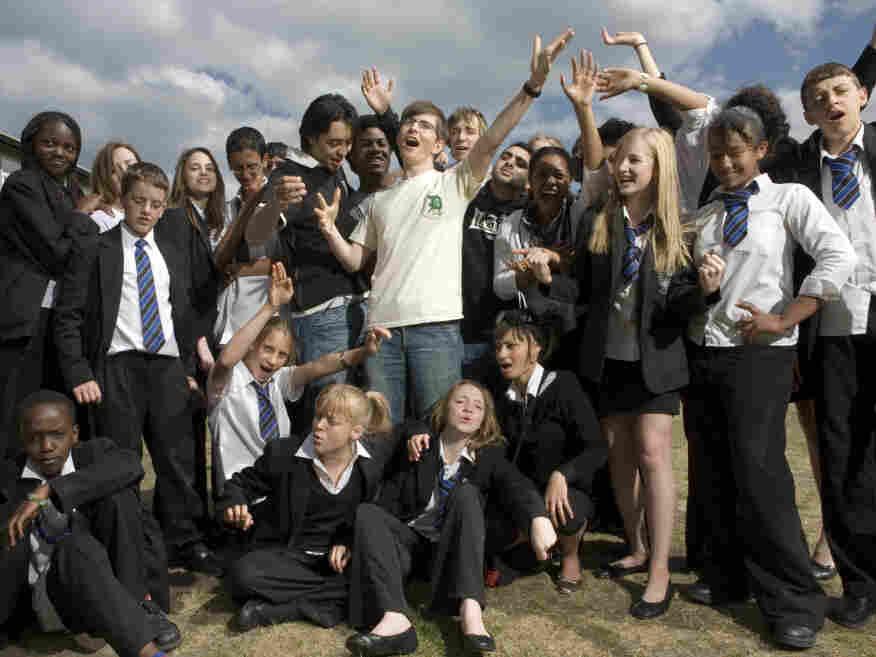 Gareth Malone and the Northholt High School's Phoenix Choir