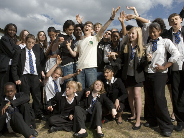 Gareth Malone and the Northholt High School's Phoenix Choir