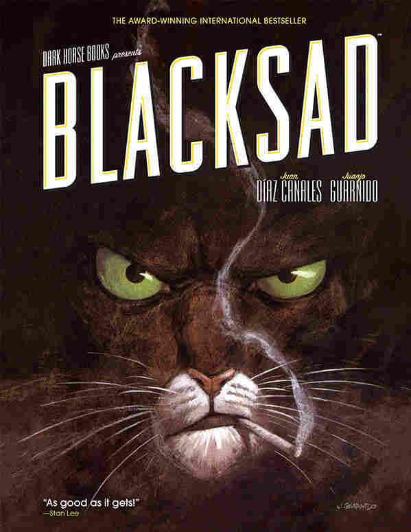 The cover of Blacksad