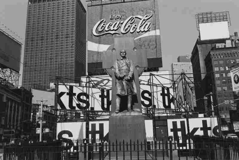 Father Duffy. Times Square, New York City, 1974