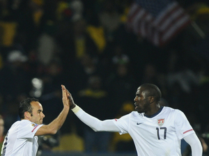 Landon Donovan and Jozy Altidore.