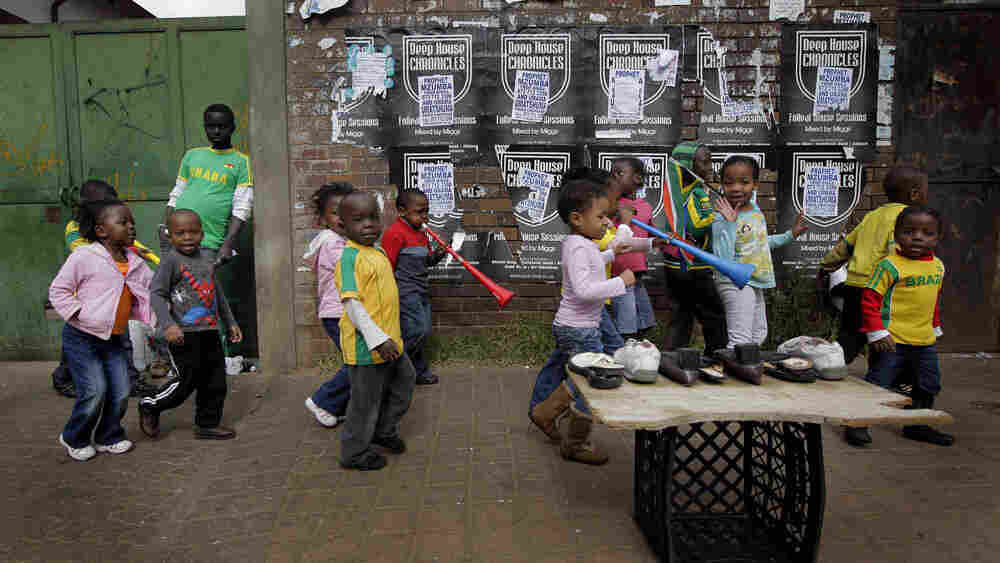 South African kids in the Yeoville neighborhood of Johannesburg