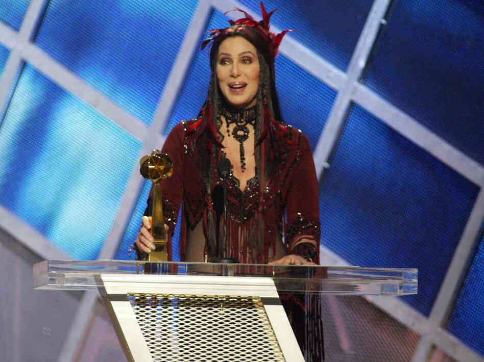 Cher at the 2002 FOX Billboard Music Awards - Show