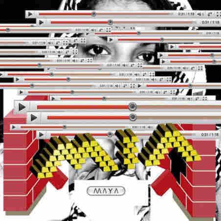 'MAYA' album cover