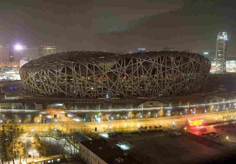 Architect: Jacques Herzog and Pierre de Meuron Structure: Bird's Nest stadium, Beijing Year Completed: 2008