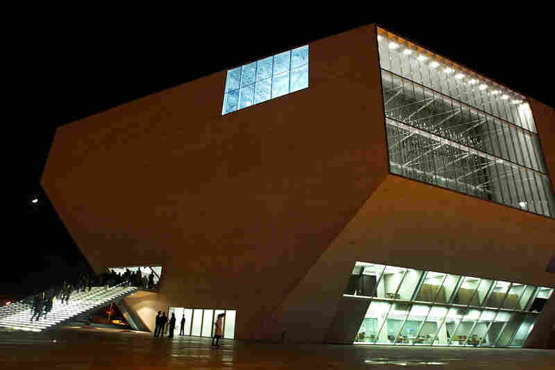 Architect: Rem Koolhaas (Office for Metropolitan Architecture)Structure: Casa da Musica, Porto, Portugal     Year Completed: 2005