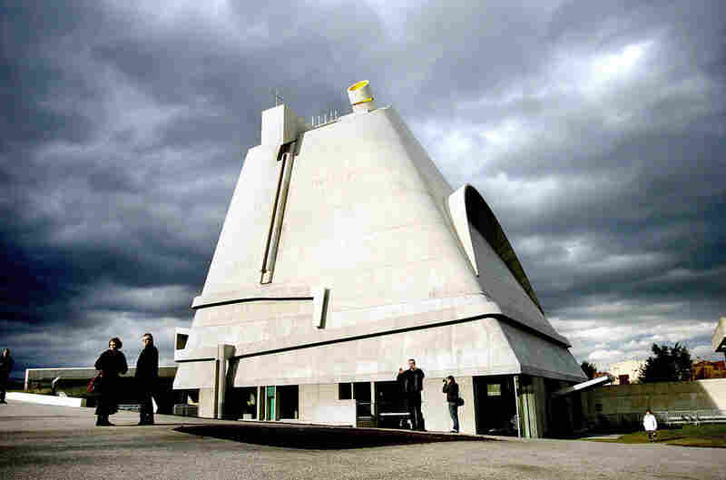 Architect: Le Corbusier Structure: Saint-Pierre church, Firminy, France Year Completed: 2006 (from a design by Le Corbusier, who died in 1965)