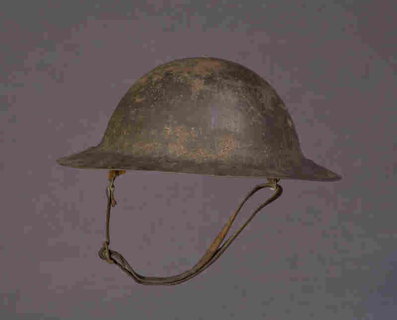Peter L. Robinson Sr.'s Steel Helmet From WWIRobinson was promoted to major during his tenure with the U.S. Army Reserves.