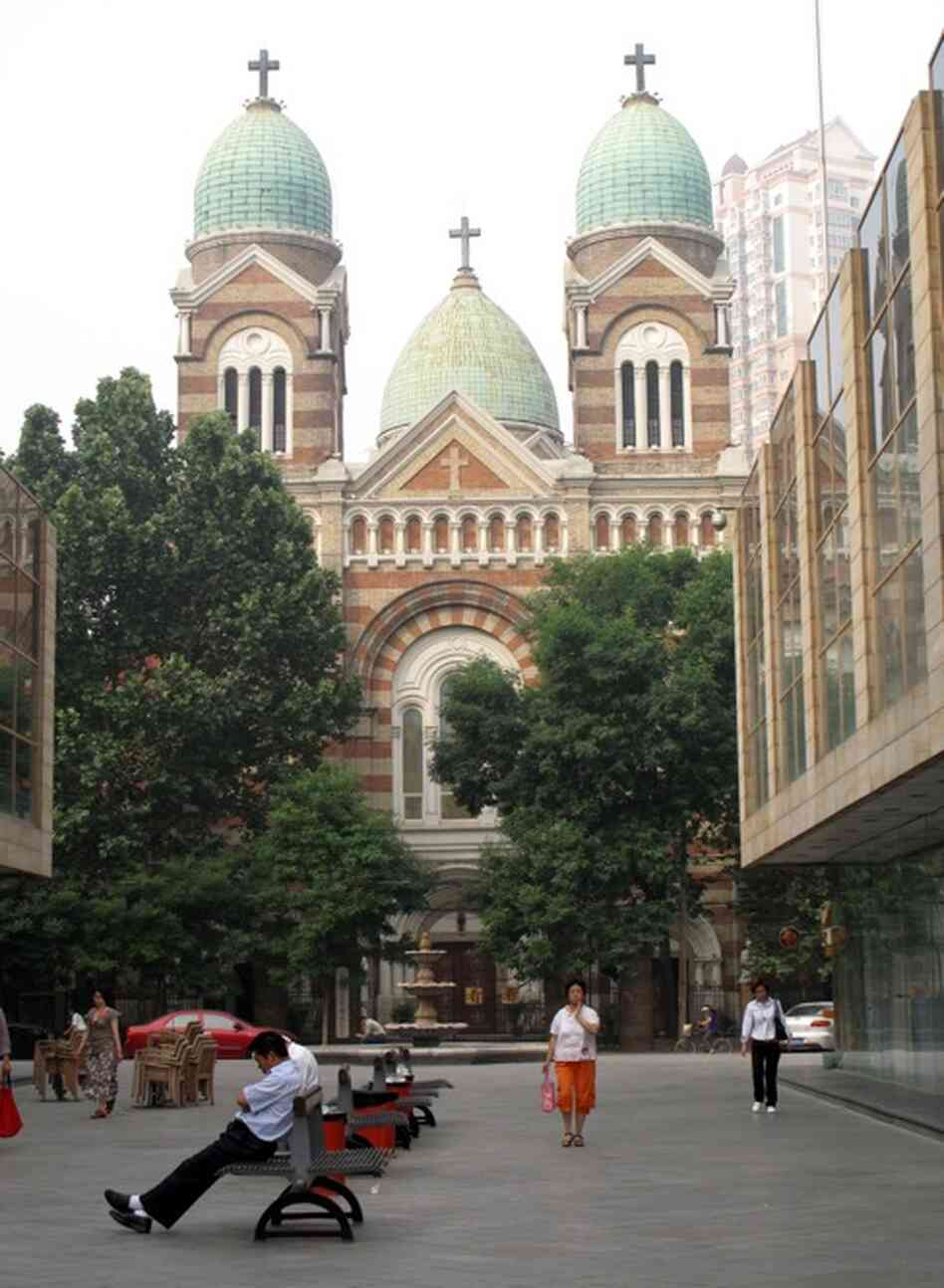 At Xikai Cathedral in Tianjin, 85 miles southeast of Beijing, the Rev. Zhang Liang says a letter issued by Pope Benedict XVI to Chinese Catholics three years ago was a turning point in the move toward reconciliation.