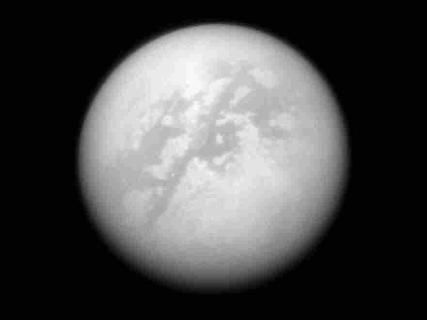 A photograph of Titan.