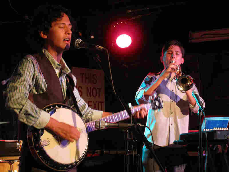 The Mexican group Furland proves that you can rock out on the banjo, especially when a trumpet is involved.