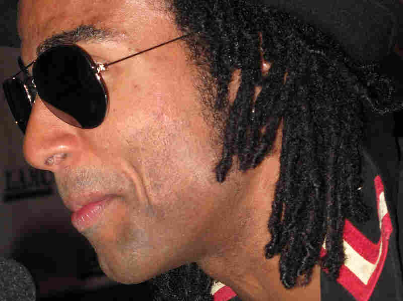 Cuban artist Yotuel attended the Latin Alternative Music Conference with his new band, Afro Cuban Punk.
