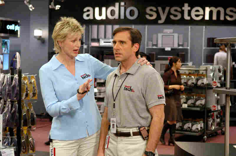 Fortunately, gender-switching in the movies doesn't always have to be a deadly serious business. Funnywoman Jane Lynch took a part originally intended for a man in The 40-Year-Old Virgin and transformed the character from just another bro into an insightful mentor with lascivious intentions — who helps Steve Carell's protagonist find himself professionally as well as sexually. (Suzanne H...