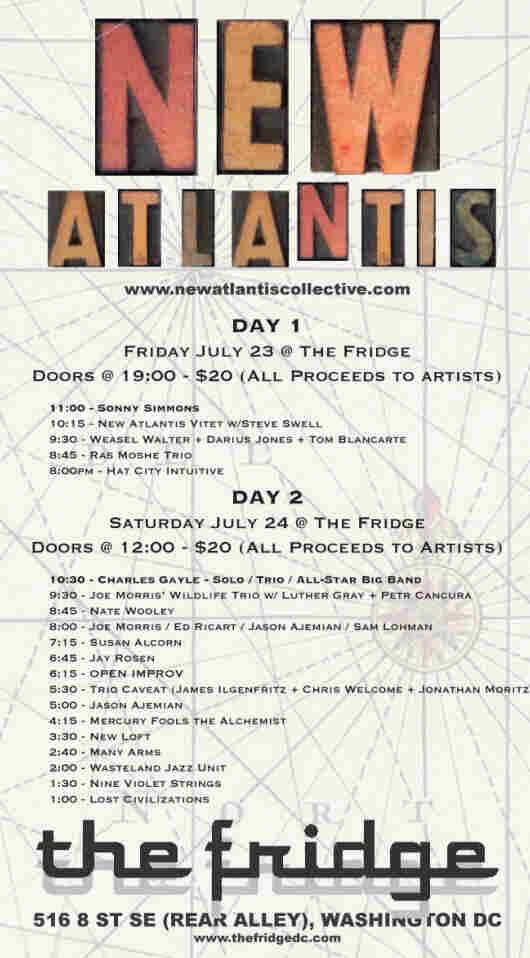 New Atlantis Festival poster.