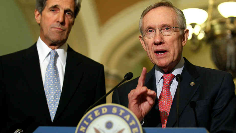 Sens. Reid And Kerry Address Energy Legislation