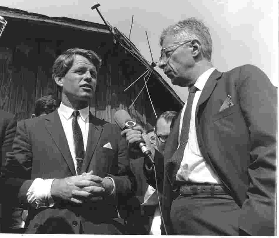 Schorr covers a visit by Sen. Robert Kennedy to the poverty-stricken Mississippi Delta in 1967.