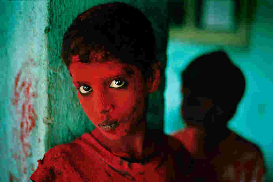 Painted Boy, Bombay, India, 1996