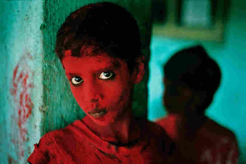 Painted Boy, Bombay, India, 1996