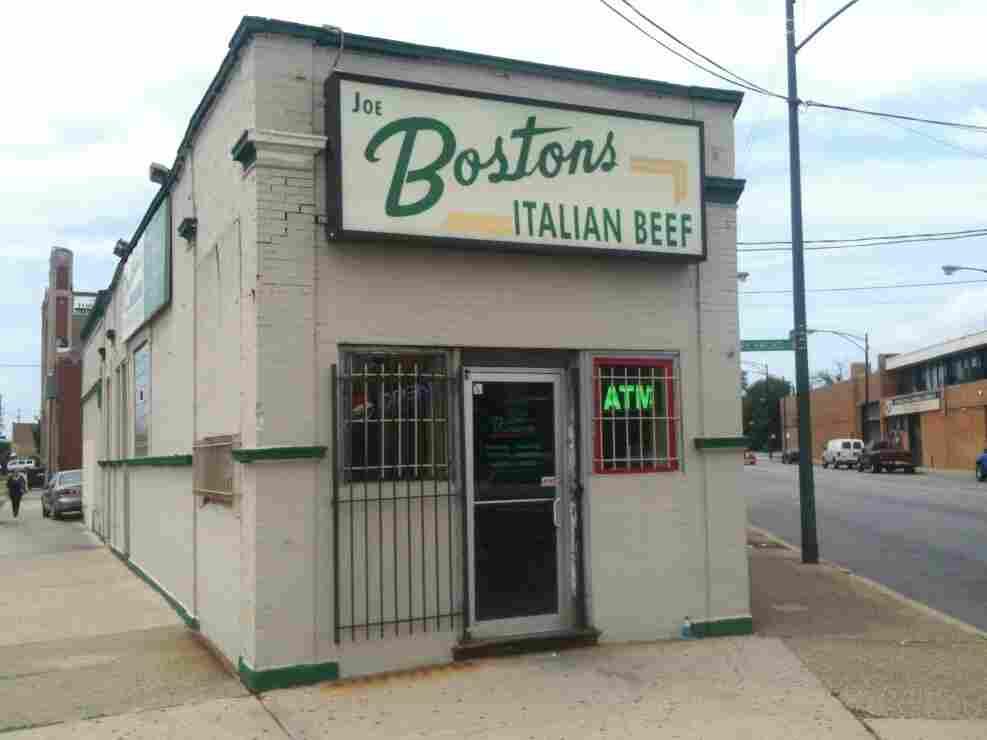 Exterior of Boston's Italian Beef