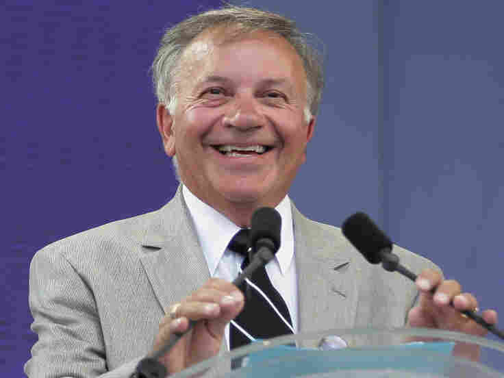 US Congressman Tom Tancredo smiles as he