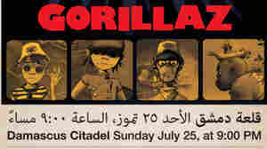 Poster for Gorillaz in Syria