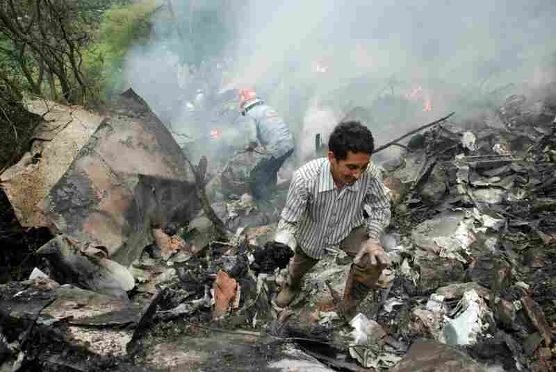 "The crash is being described as ""among the worst air disasters in Pakistan."""