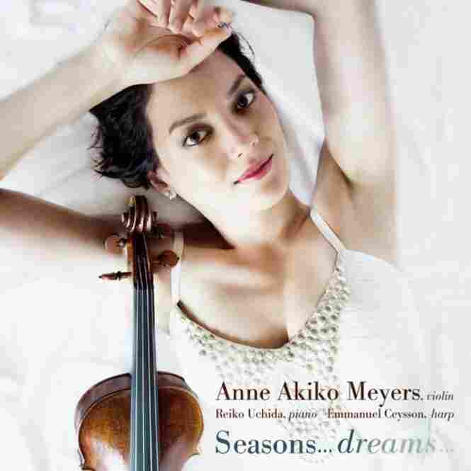 Anne Akiko Meyers, violinist, plays music by Beethoven and Debussy.
