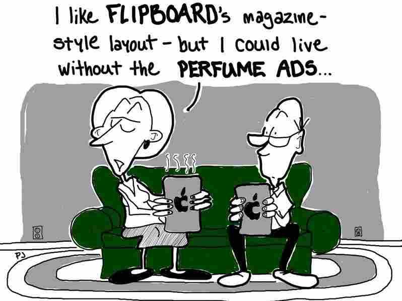a cartoon by phil johnson