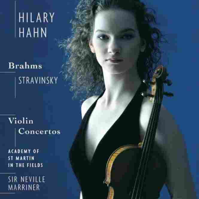 Hilary Hahn, violinist, plays music by Brahms and Stravinsky.