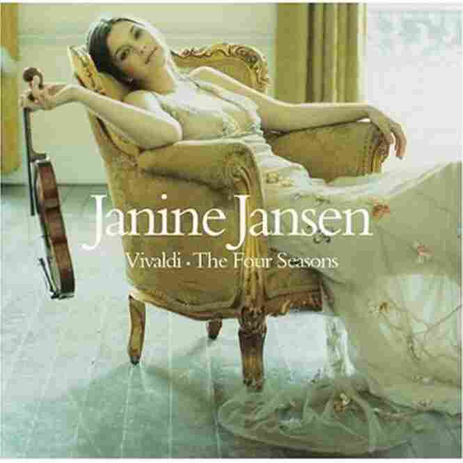 Janine Jansen, violinist, plays music by Vivaldi.