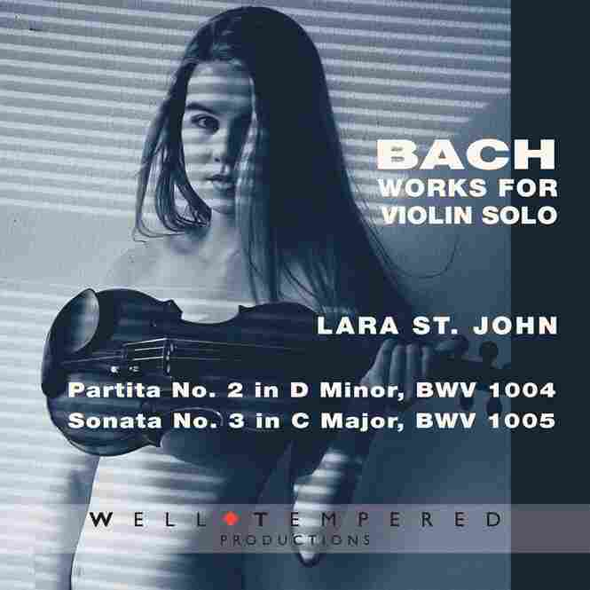 Lara St. John, violinist, plays music by Bach.