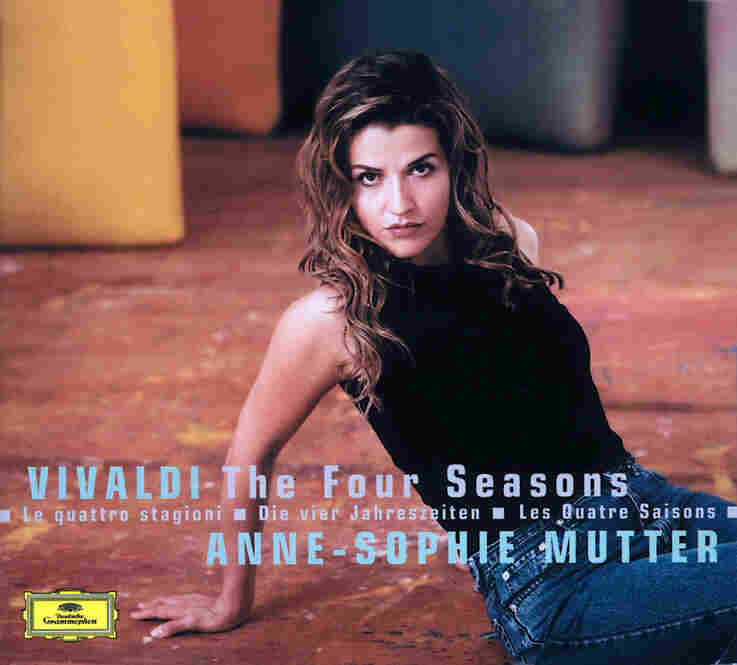 Anne-Sophie Mutter, violinist, plays music by Vivaldi.