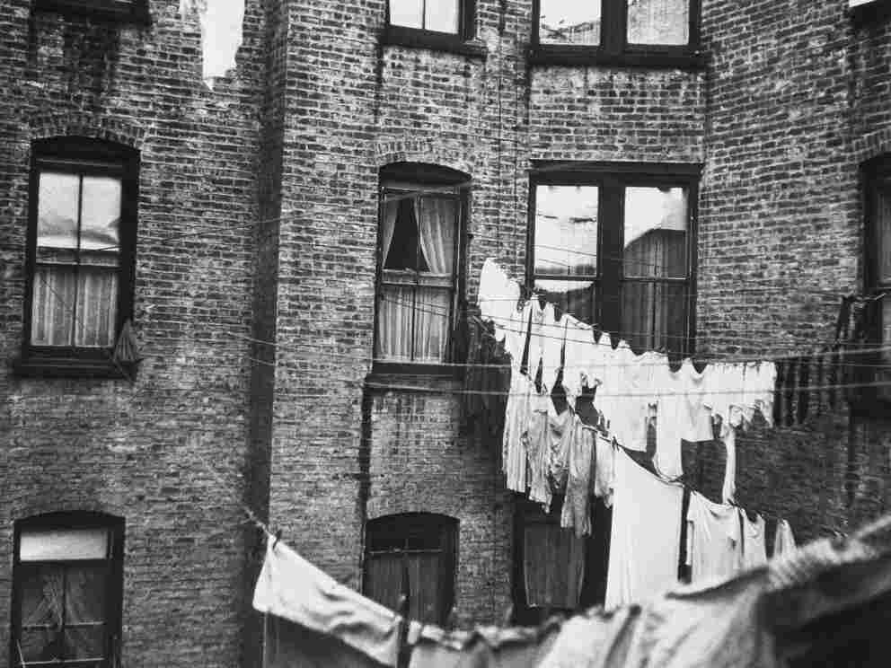 Slum in New York City