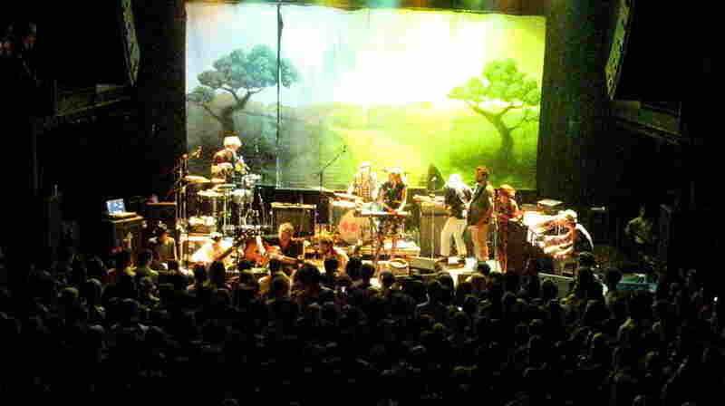 Edward Sharpe and The Magnetic Zeros perform at 9:30 Club on July 20.