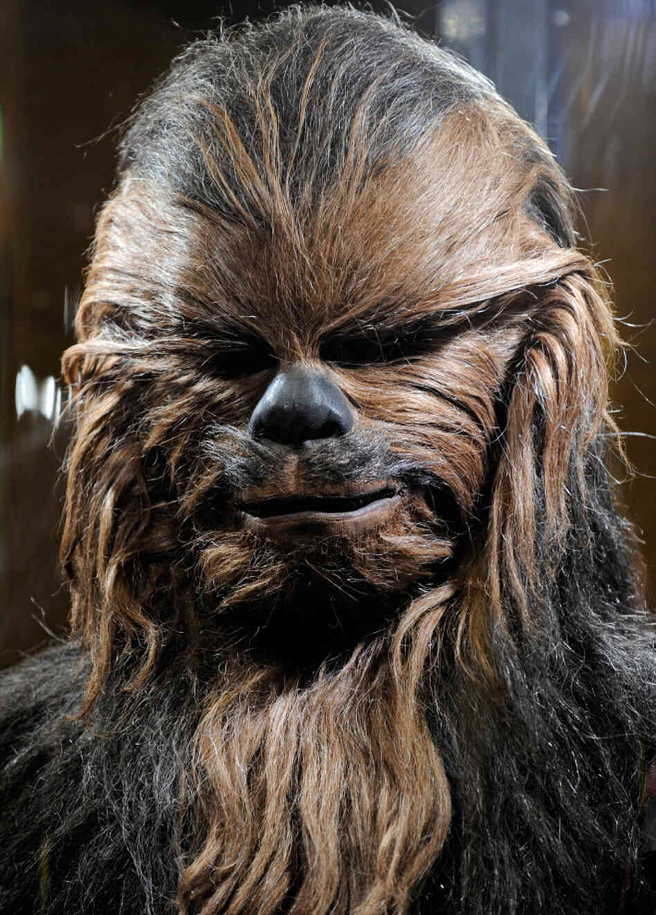 Chewbacca, the most famous Wookiee of them all.