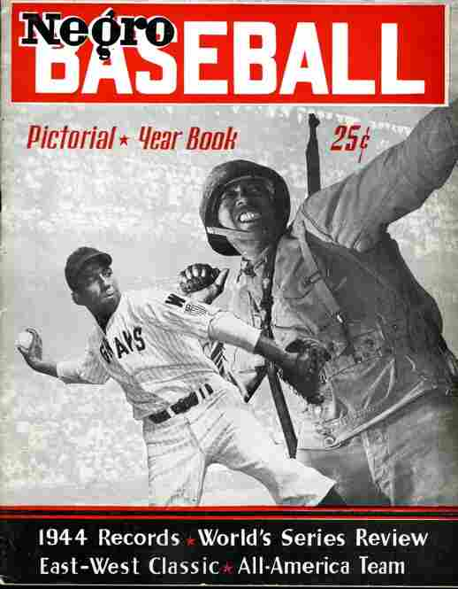 Negro Baseball Pictorial Yearbook, 1945