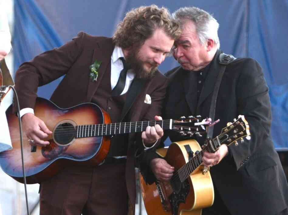 Jim James and John Prine