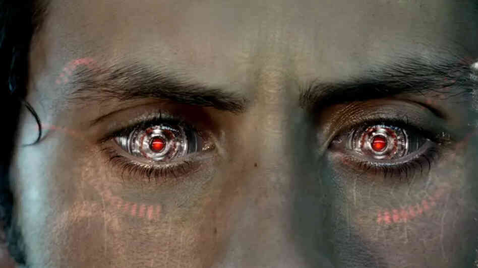 My What Beautiful Glowing Red Eyes You Have : All Tech Considered ...