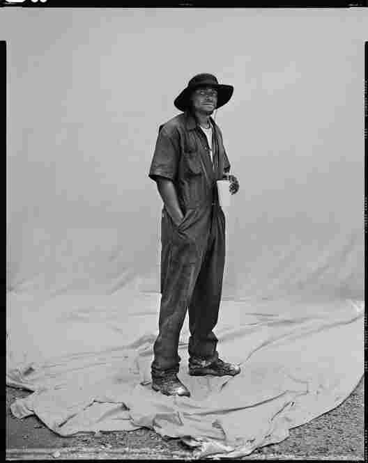 George Clark, oil spill laborer, Venice, La.