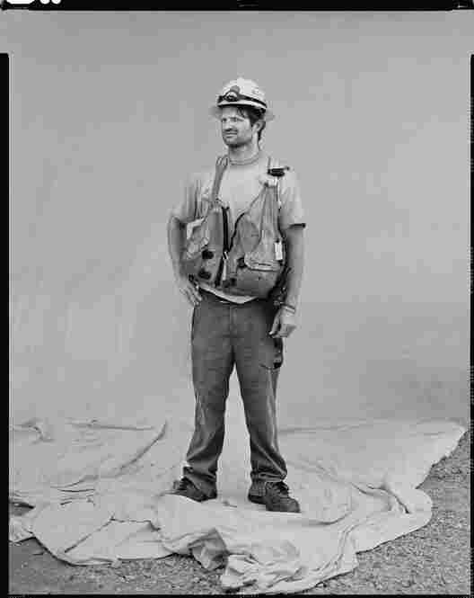 Seth Solomon, oil spill laborer, Venice, La.