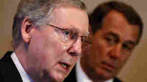 Senate Minority Leader Mitch McConnell, left, and House Minority Leader John Boehner.