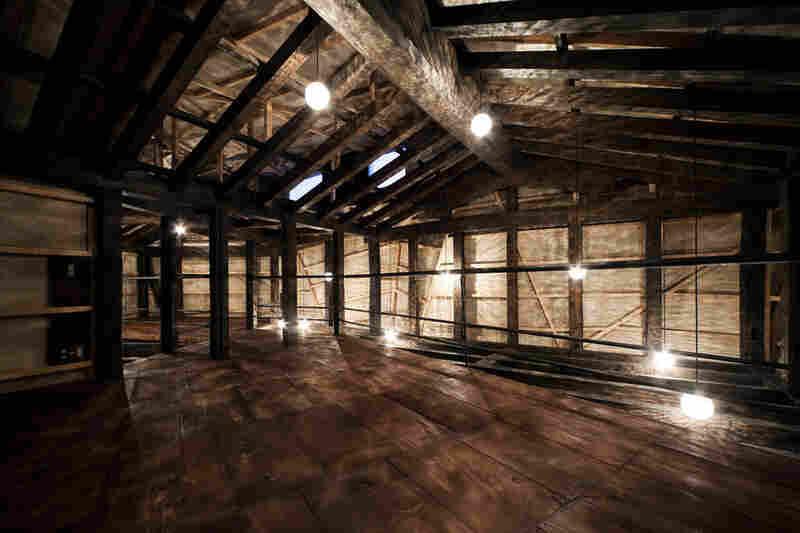 """Interior of """"Yachiyo House."""""""