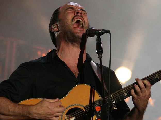 Dave Matthews performs at Bonnaroo 2010