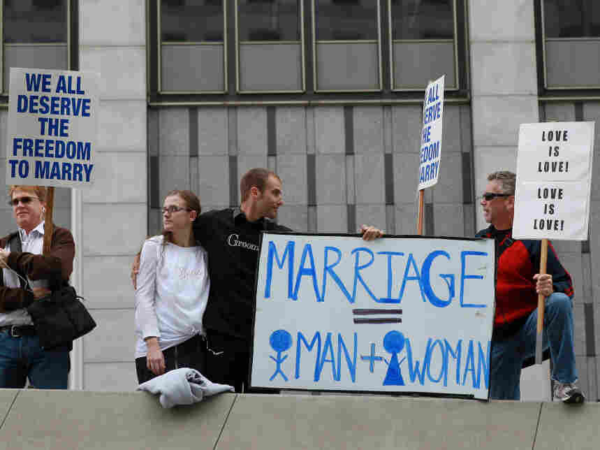 Federal Judge Announces Ruling On Constitutionality Of Proposition 8
