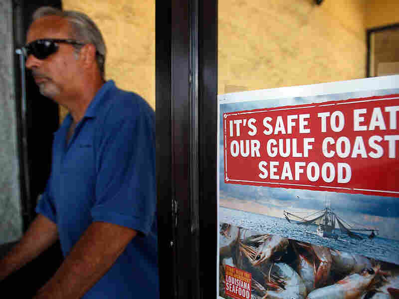 gulf seafood safe sign