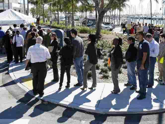 job fair, Miami