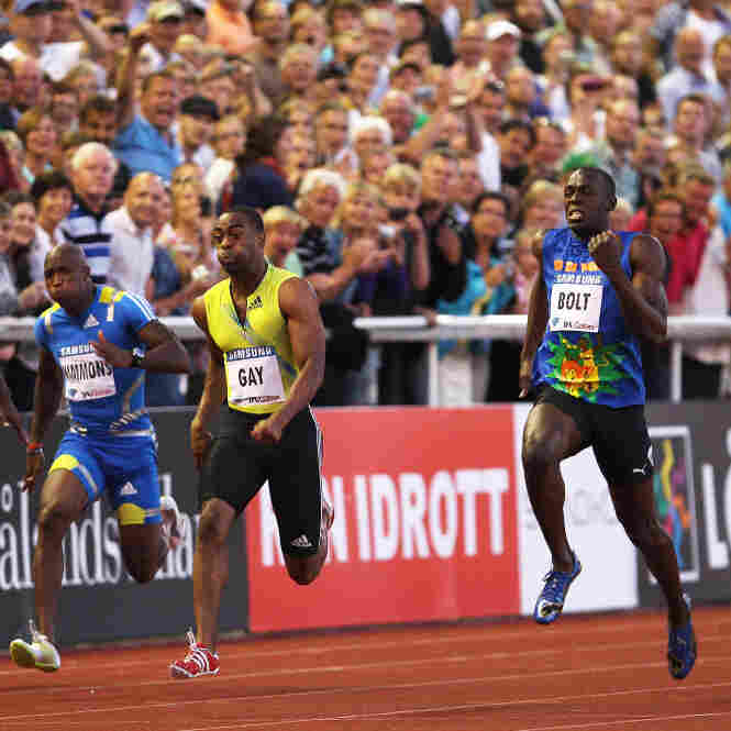 Usain Bolt Beaten By Tyson Gay In 100 Meters